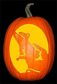 Cheesy Rat Pumpkin72