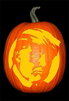 Donald Trump Pumpkin72