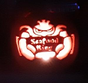 Seafood King carve