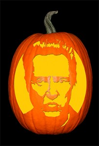 Christopher Walken Pumpkin