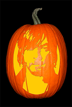 Daryl_Walking Dead Pumpkin