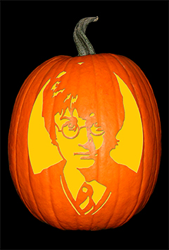 Harry Potter Pumpkin72