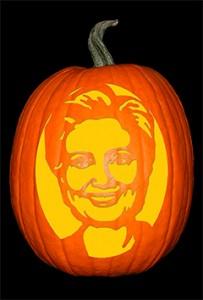 Hillary Clinton Pumpkin72