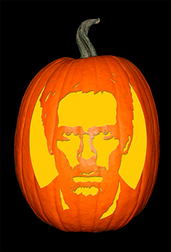 Hugh Laurie_House Pumpkin