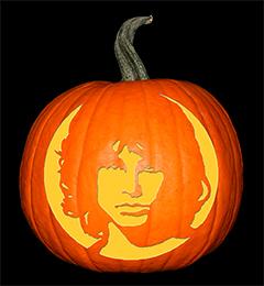 Jim Morrison Pumpkin72
