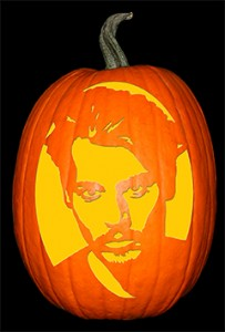 Johnny Depp Pumpkin72