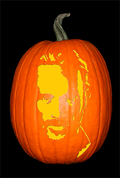 Rick_Walking Dead Pumpkin