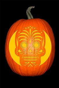 Sugar Skull Pumpkin72