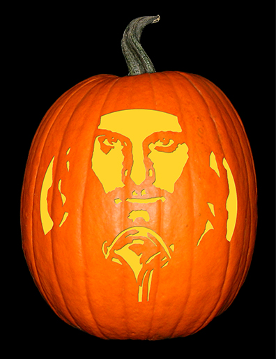 Lord of the Rings_Aragorn Pumpkin