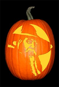 Lord of the Rings_Gandalf Pumpkin