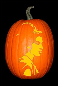 Amy Winehouse Pumpkin