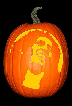 Bob Marley Pumpkin