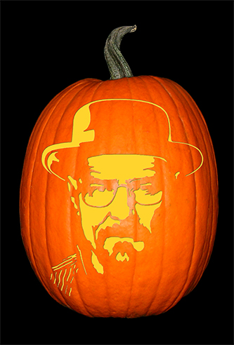 Breaking Bad_Walter_Hat Pumpkin