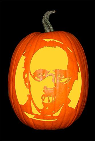 Hannibal Lecter_pumpkin