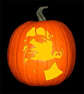 Michael Jackson 2 pumpkin