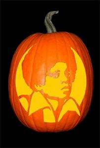 Michael Jackson 3 Pumpkin