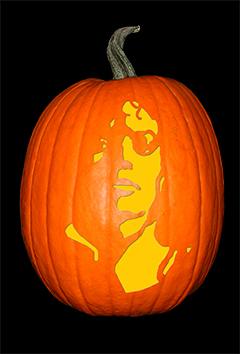 Michael Jackson 4 Pumpkin