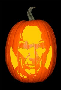 Clint Eastwood Pumpkin