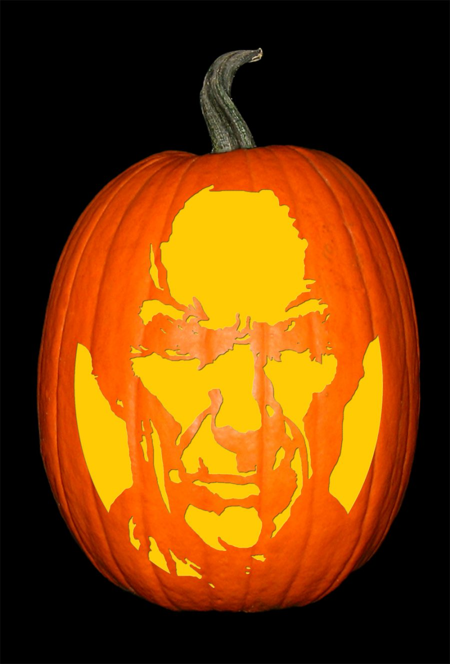 Clint Eastwood Pumpkin