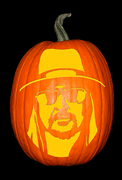 Kid Rock Pumpkin