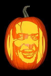 The Shining_Jack Nicolson Pumpkin