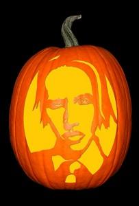 Marilyn Manson Pumpkin