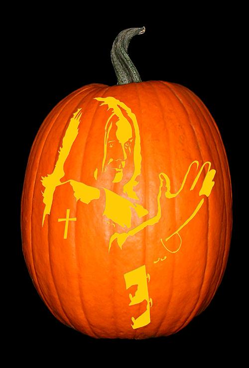 Ozzy Osborne Pumpkin