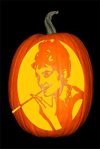 Audrey Hepburn_pumpkin