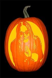 Ozzy Osbourne 2 Pumpkin