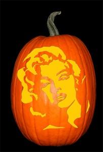 Marilyn Monroe Pumpkin