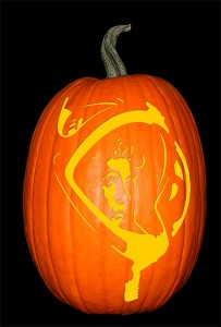 Ripley_Alien Pumpkin