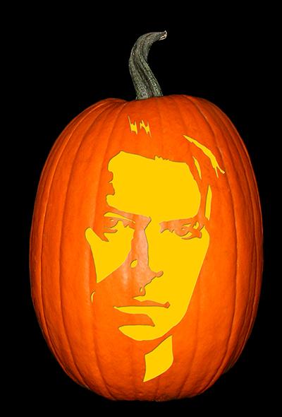 David Bowie 2 Pumpkin