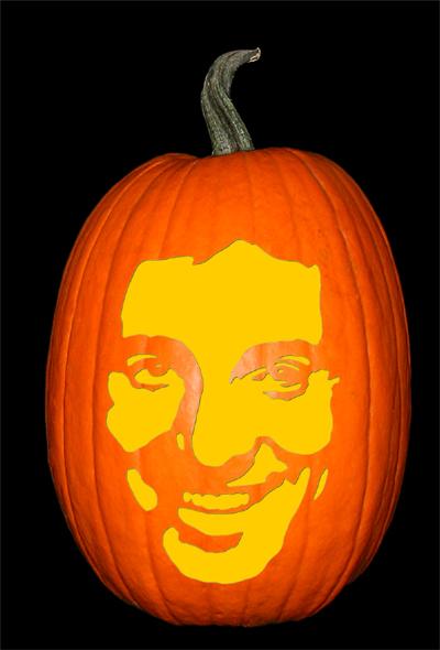 Bruce Springsteen 2 Pumpkin