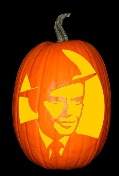Frank Sinatra Pumpkin copy