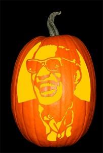 Ray Charles Pumpkin