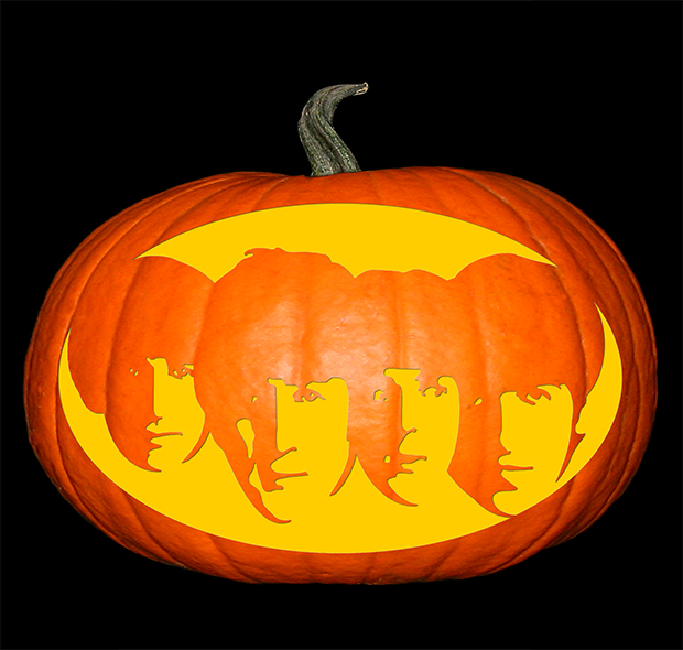 Beatles Pumpkin