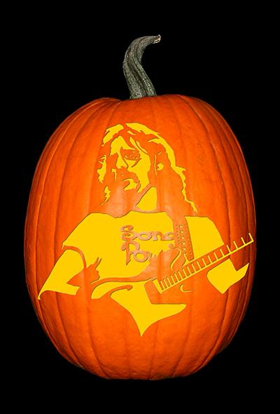 Glenn Frey Pumpkin