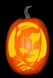 Adam West Pumpkin