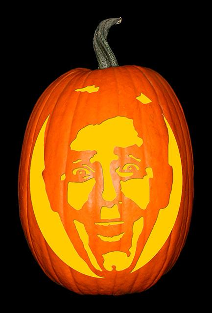 Jerry Lewis Pumpkin