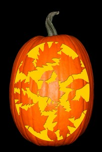 Autumn Leaves Pumpkin