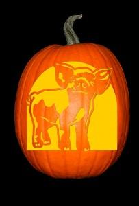 Piglet Pumpkin