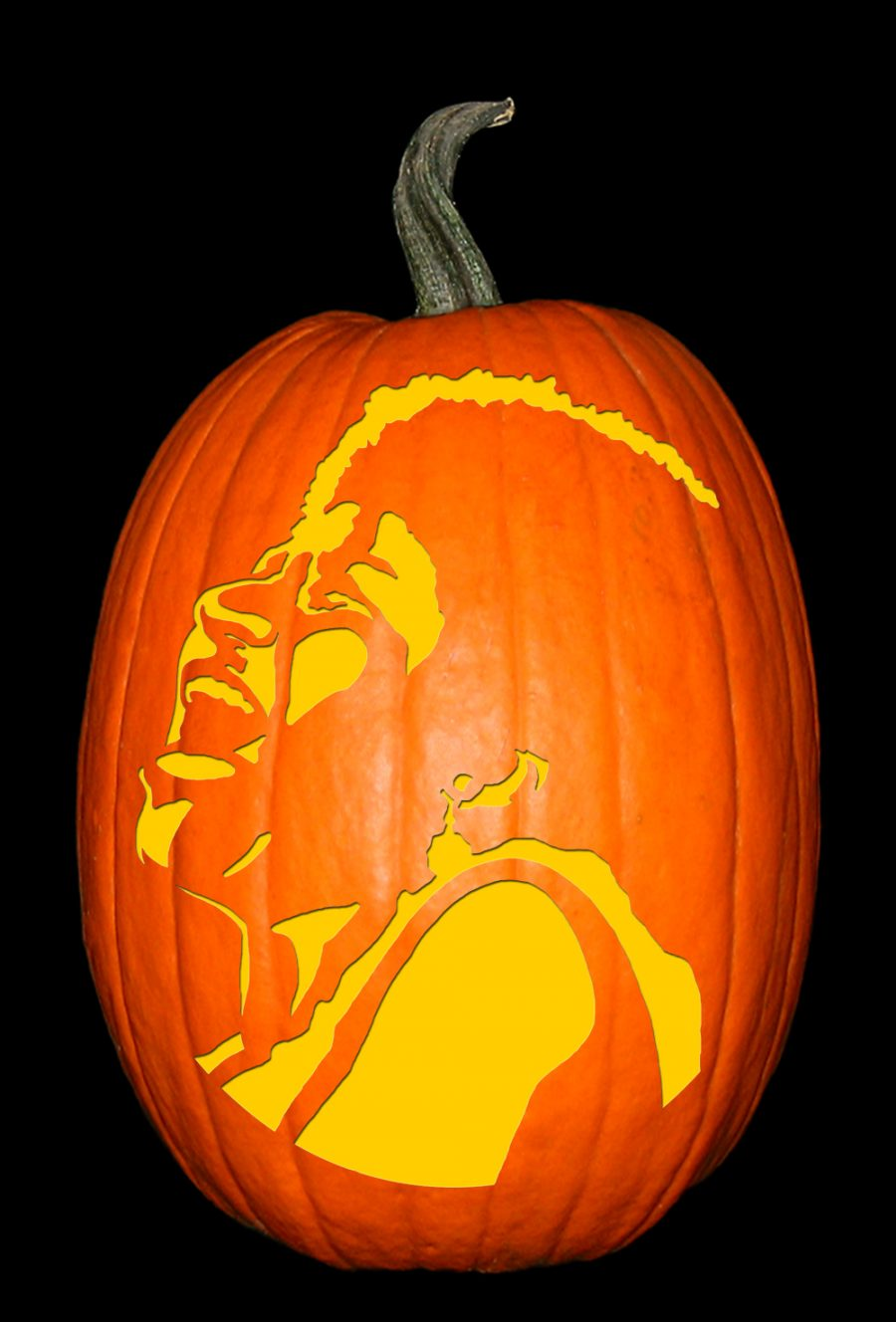 Aretha Franklin Pumpkin