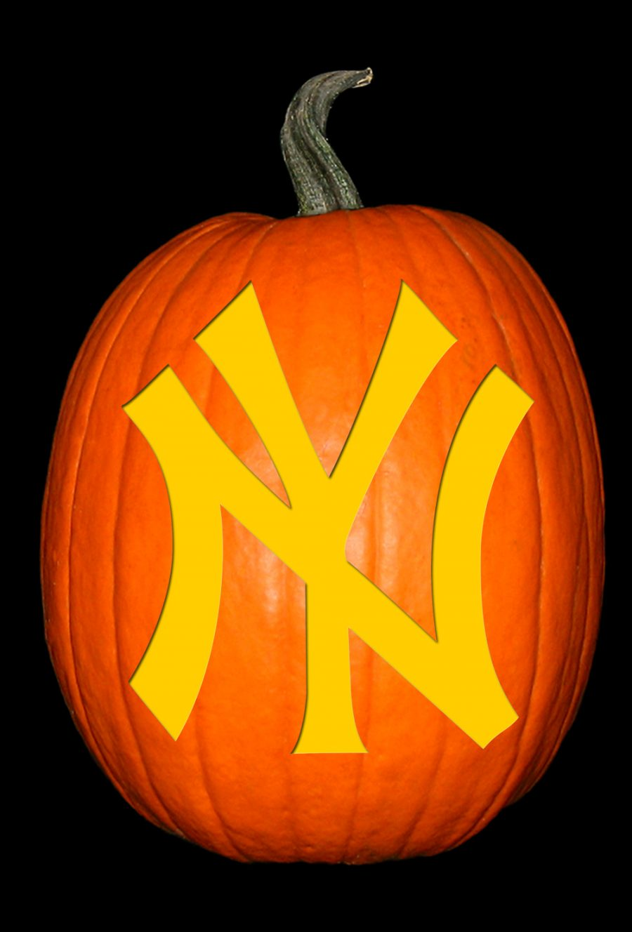 Yankees 2 Pumpkin