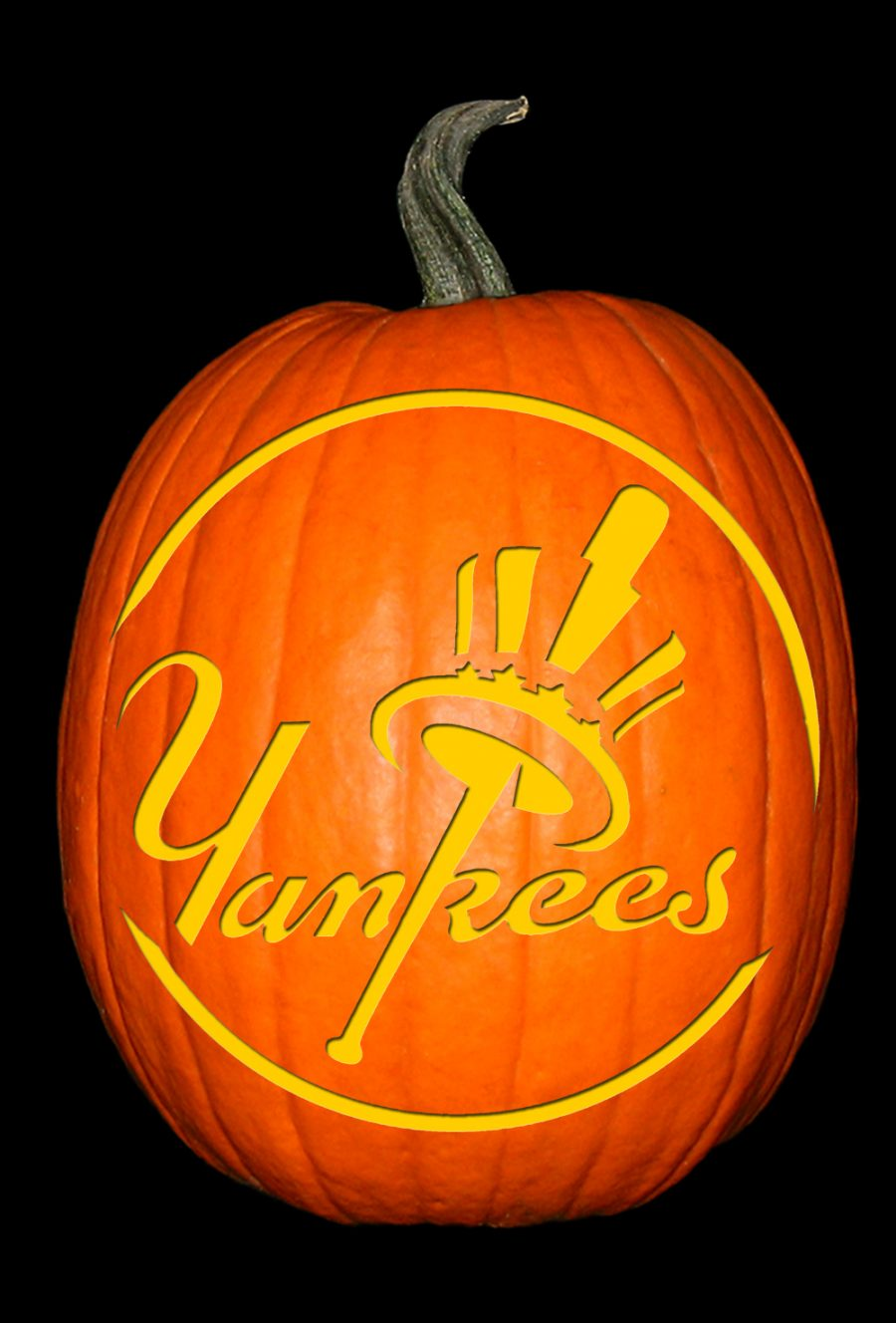 Yankees Pumpkin