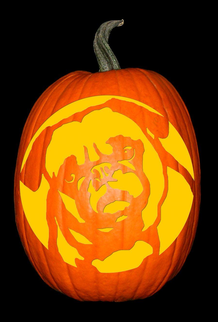 Pug 2 Pumpkin