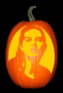 Taylor Swift Pumpkin