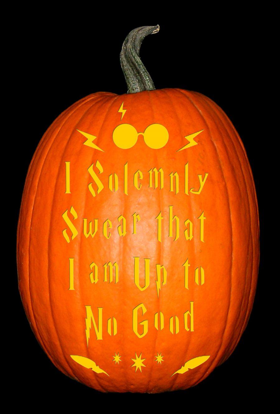 HP Solemnly Swear Pumpkin