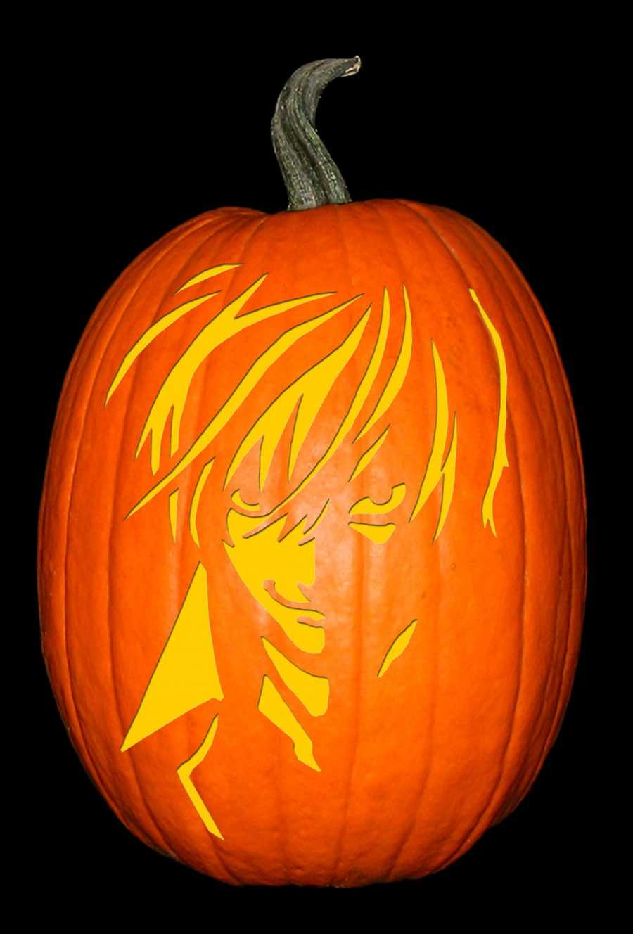 Death Note-Light Yagami Pumpkin