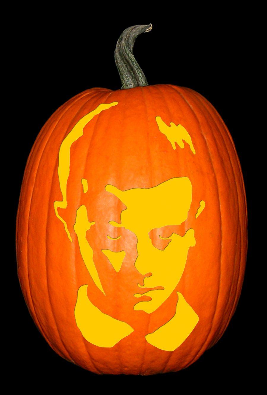 Stranger Things 11 Pumpkin