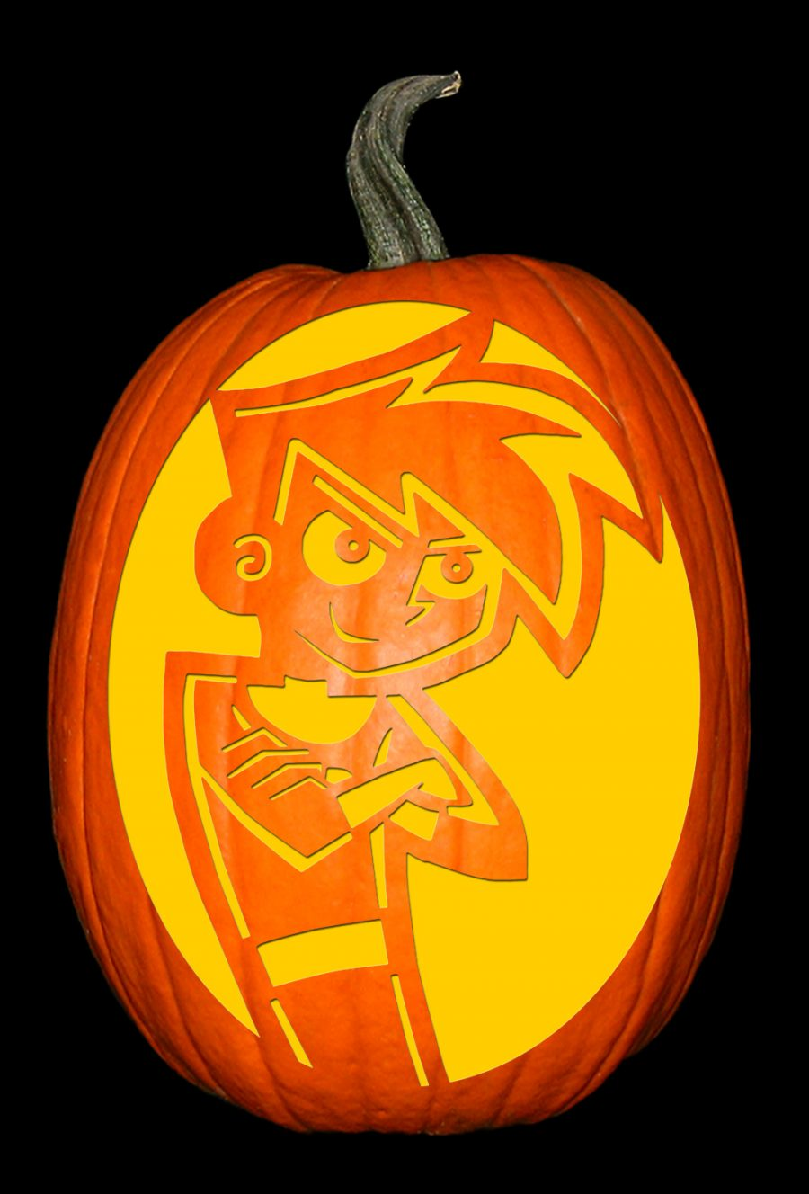 Danny Phantom Pumpkin